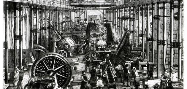 متى بدأت الثورة الصناعية