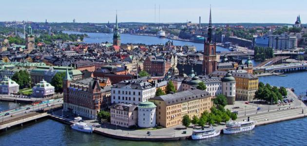 مدن سويدية