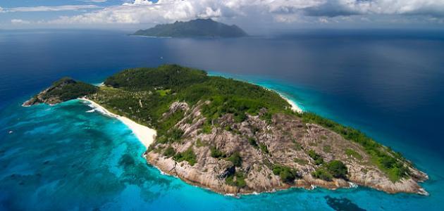 جزر في المحيط الهادئ