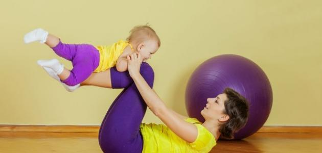 كيفية إنقاص الوزن بعد الولادة