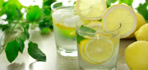 فوائد الماء البارد مع الليمون