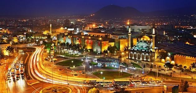 مدينة قيصري في تركيا