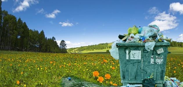 موضوع قصير عن تلوث البيئة