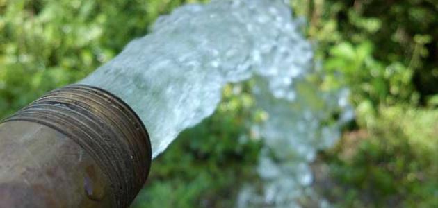 حلول تحد من استهلاك المياه