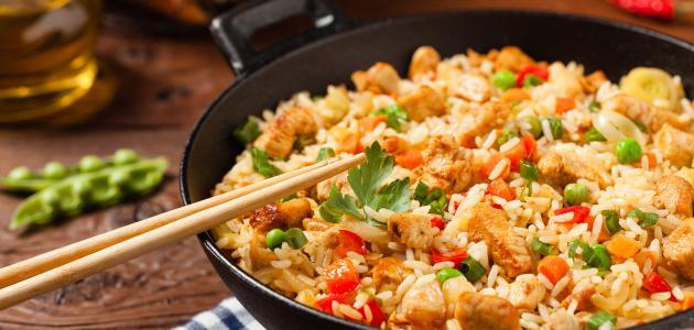 عمل الأرز الصيني