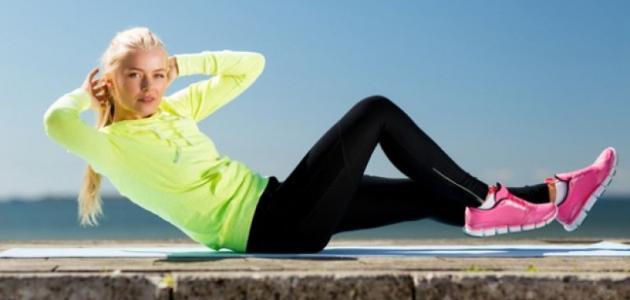 تمارين تساعد على حرق الدهون