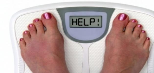 زيادة الوزن بشكل سريع