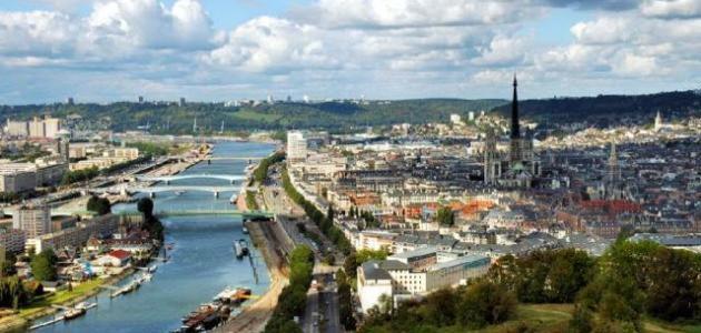 مدينة روان في فرنسا