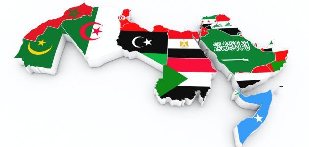 الدول العربية حسب المساحة