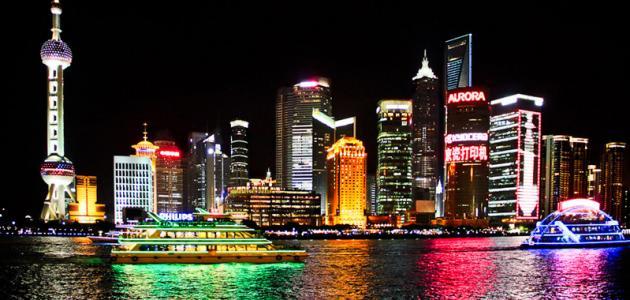 مدينة شنغهاي الصينية