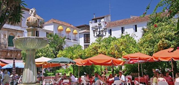 مدينة ماربيا في إسبانيا