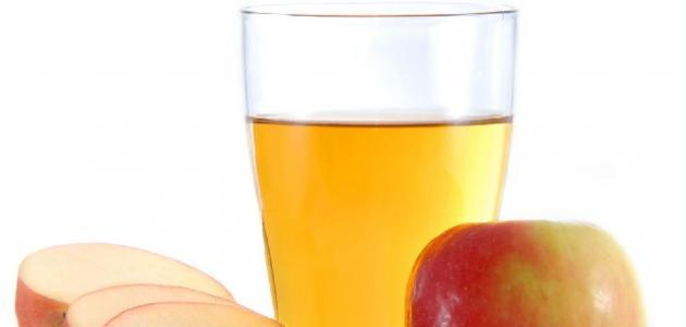 خل التفاح لإزالة الكرش