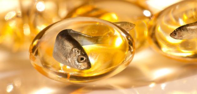 ما فوائد حبوب زيت السمك