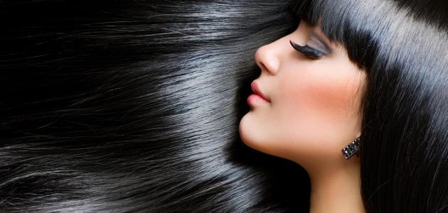 وصفات طبيعية لصبغ الشعر باللون الأسود