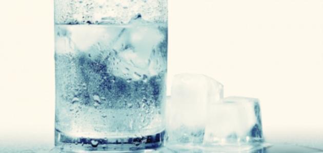 ما فوائد الماء البارد