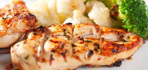 وصفات دجاج دايت