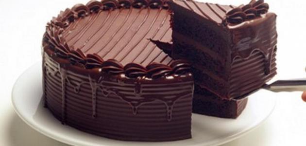 مكونات كعكة الشوكولاتة
