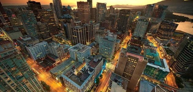 مدينة فانكوفر في كندا