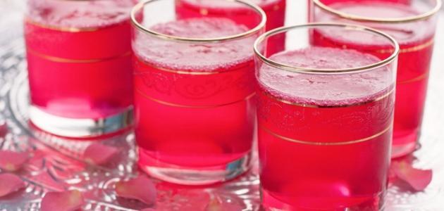 ما فائدة شرب ماء الورد