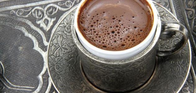 عمل القهوة التركية في البيت