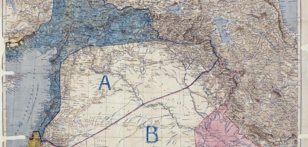 تقسيم الدول العربية