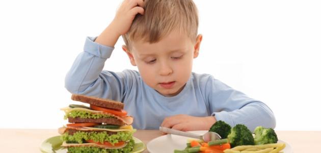 أعراض نقص التغذية
