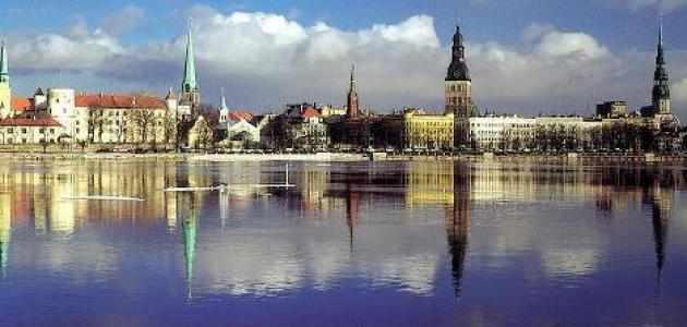 عاصمة دولة لاتفيا