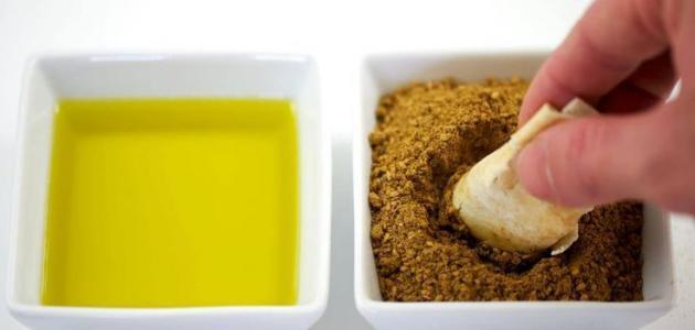 فوائد زيت الزيتون والزعتر