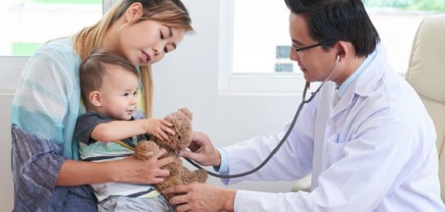 علاج للكحة والبلغم عند الأطفال