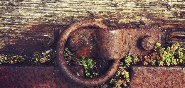 حماية الحديد من الصدأ
