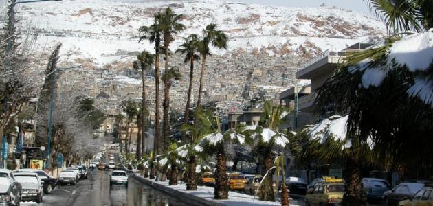 سبب تسمية دمشق