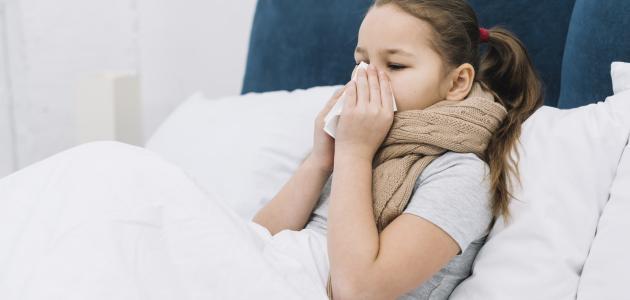 علاج للزكام عند الأطفال