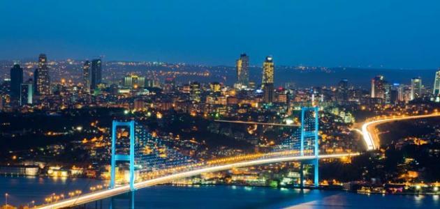 المدن في تركيا