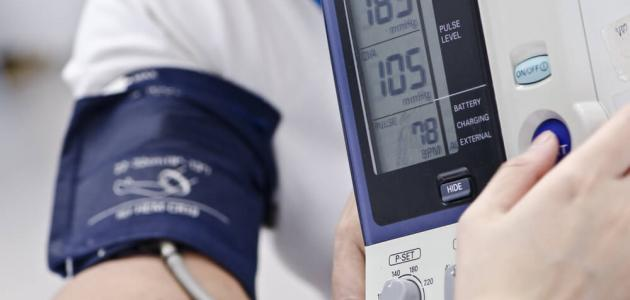 معدل ارتفاع ضغط الدم