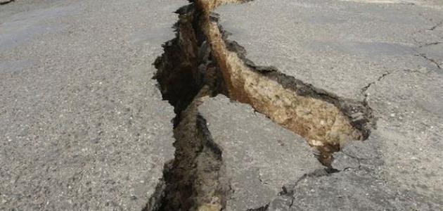 ما هي خصائص الزلزال