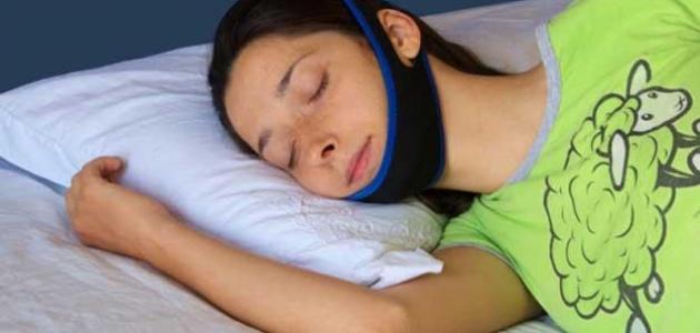 حل مشكلة الشخير أثناء النوم