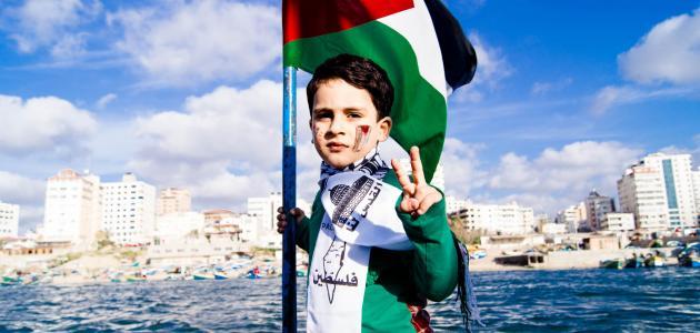 مساحة فلسطين وعدد سكانها