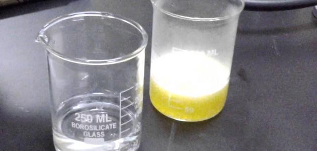دلالات حدوث التفاعل الكيميائي