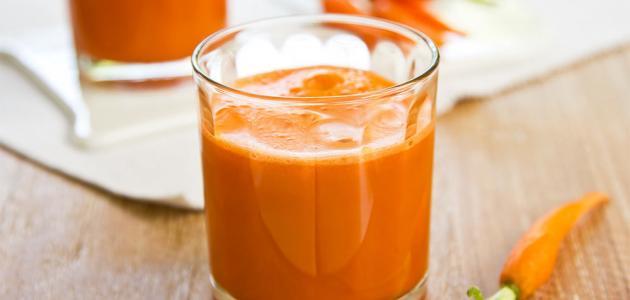 فوائد عصير الجزر والبرتقال للبشرة