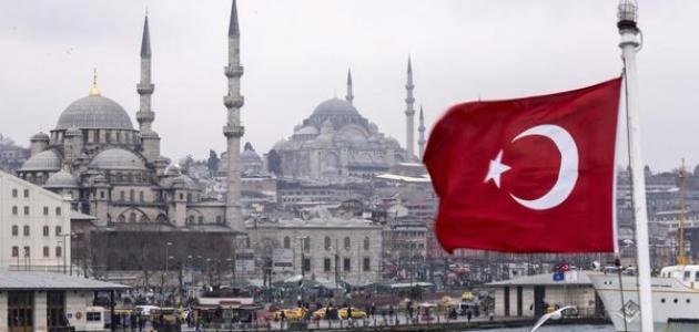 مساحة تركيا وعدد سكانها