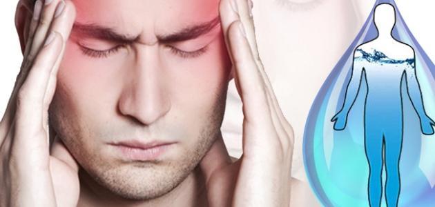 أعراض نقص السوائل