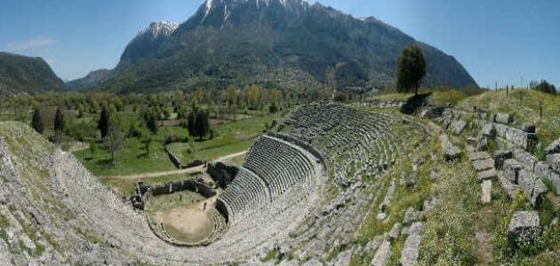 مدن اليونان القديمة