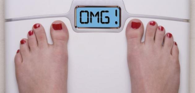 زيادة الوزن المفاجئة