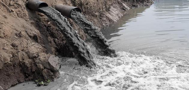 بحث عن أسباب تلوث الماء