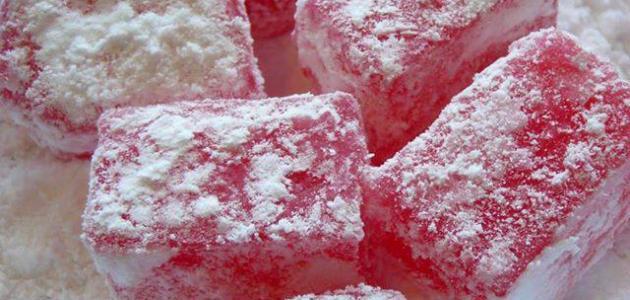 كيفية صناعة حلوى الحلقوم