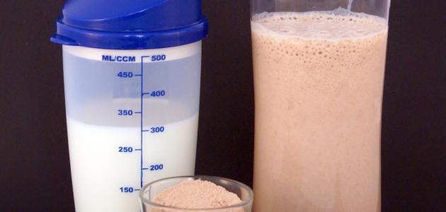 مسحوق البروتين لزيادة الوزن