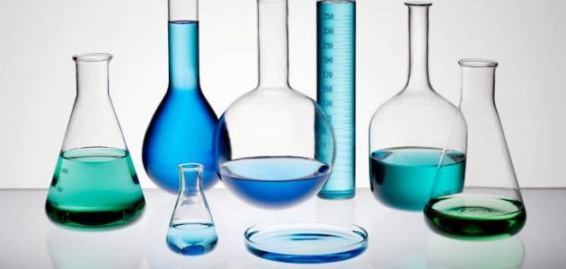 بحث عن الكيمياء والمادة