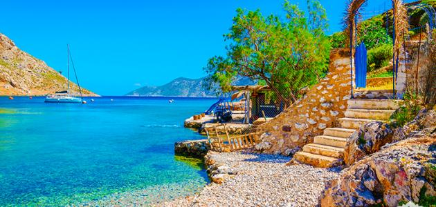 جزيرة زاكينثوس في اليونان