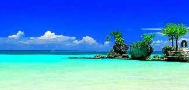 جزيرة بوراكاي الفلبينية