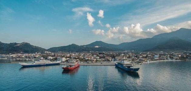 جزيرة ثاسوس اليونانية